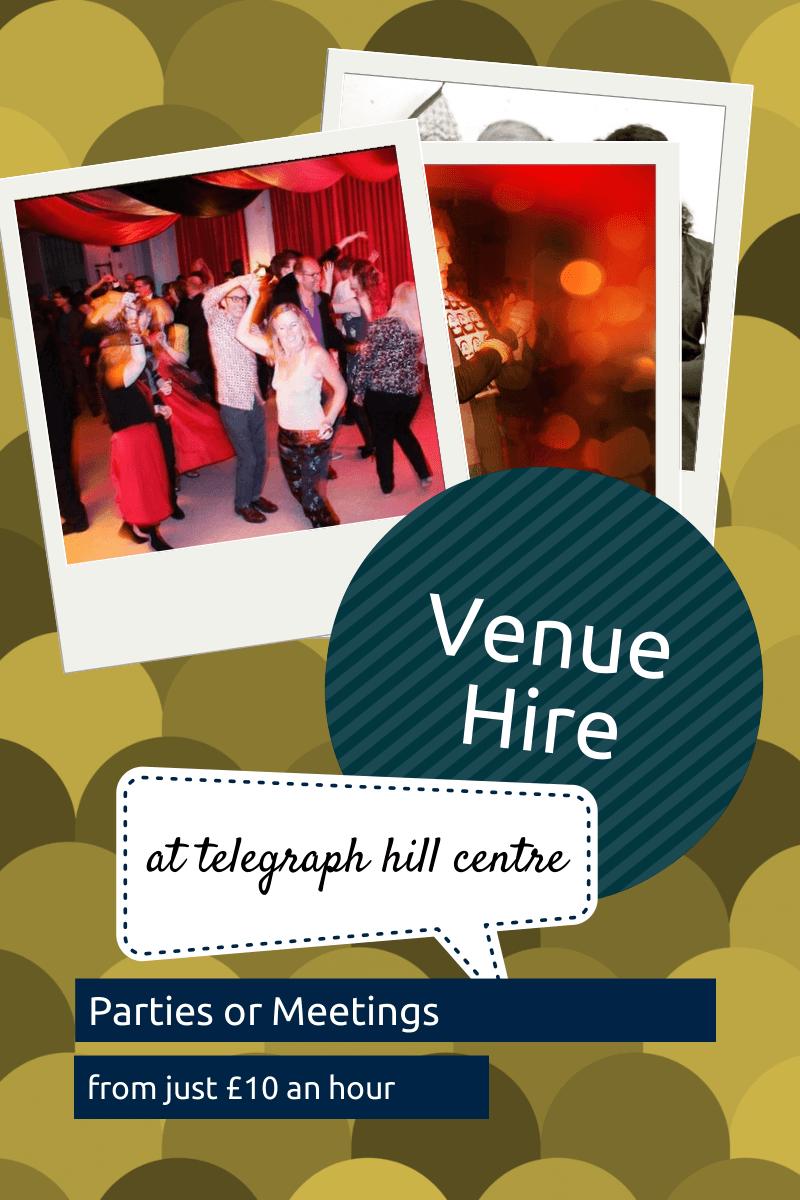 Telegraph Hill Centre - Venue Hire