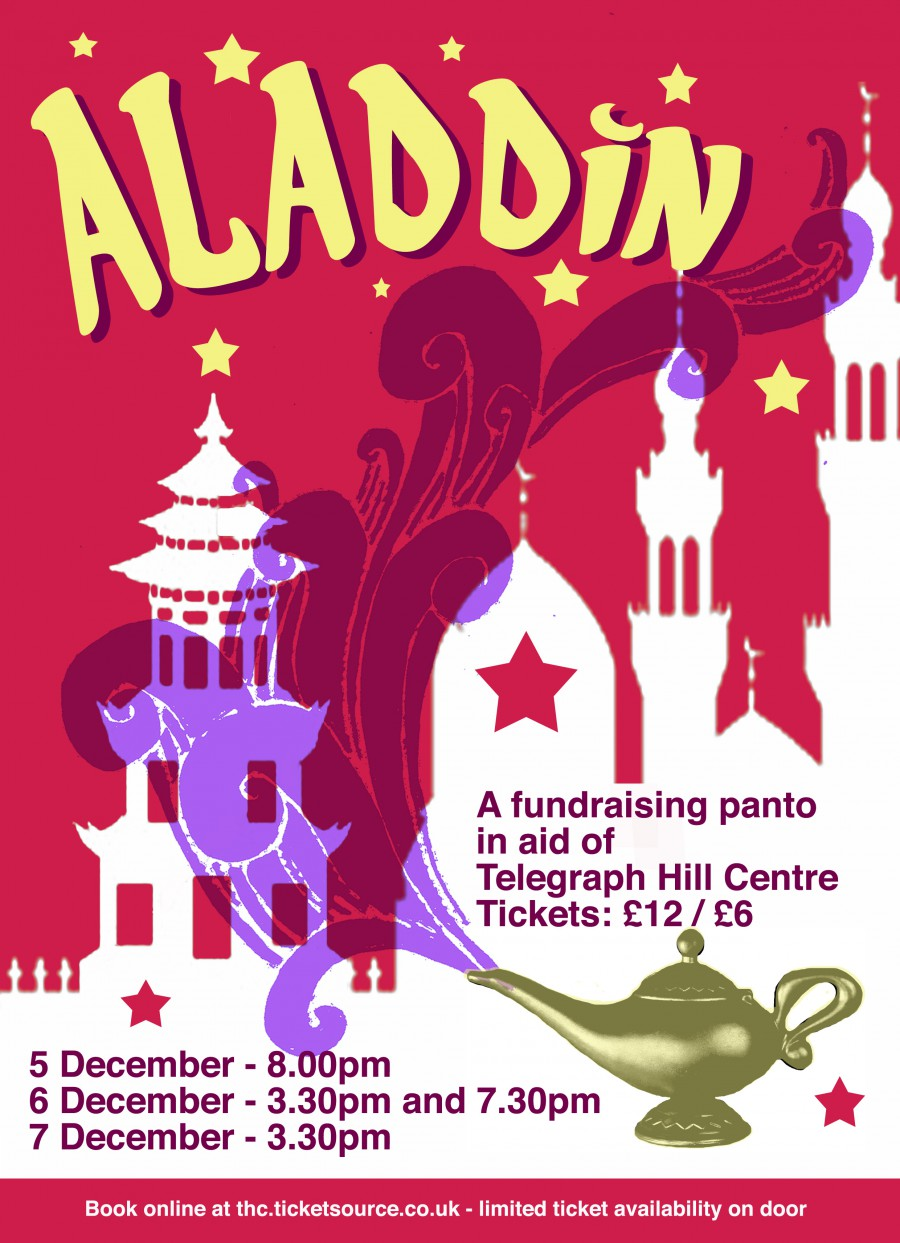 Aladdin – A thrilling tale of derring do …