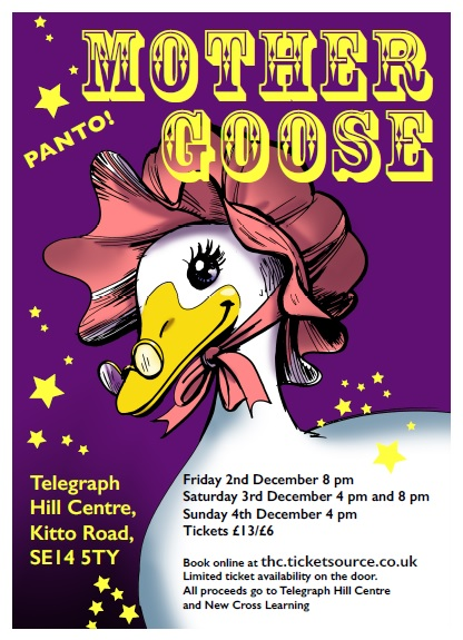 Mother Goose at Telegraph Hill Centre