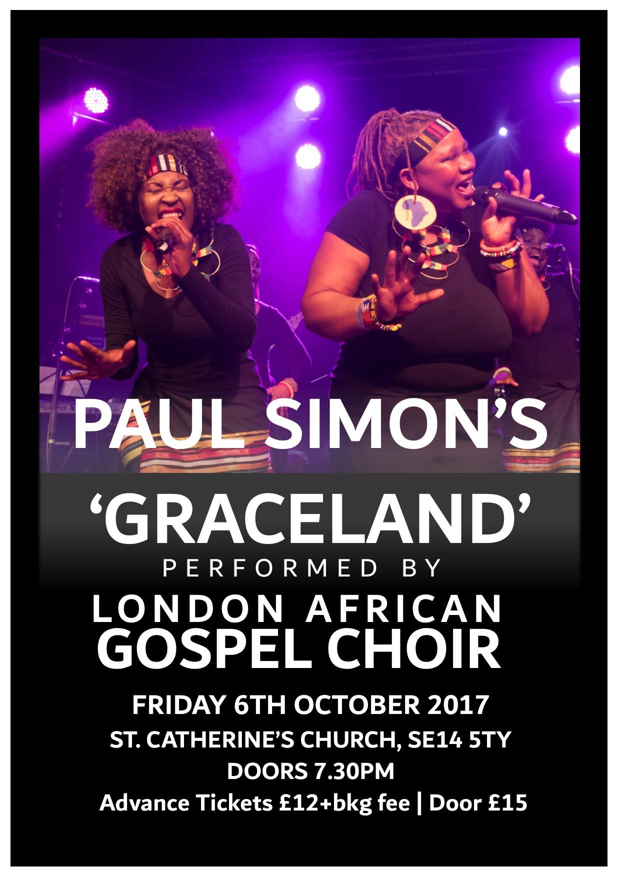London African Gospel Choir on Telegraph Hill