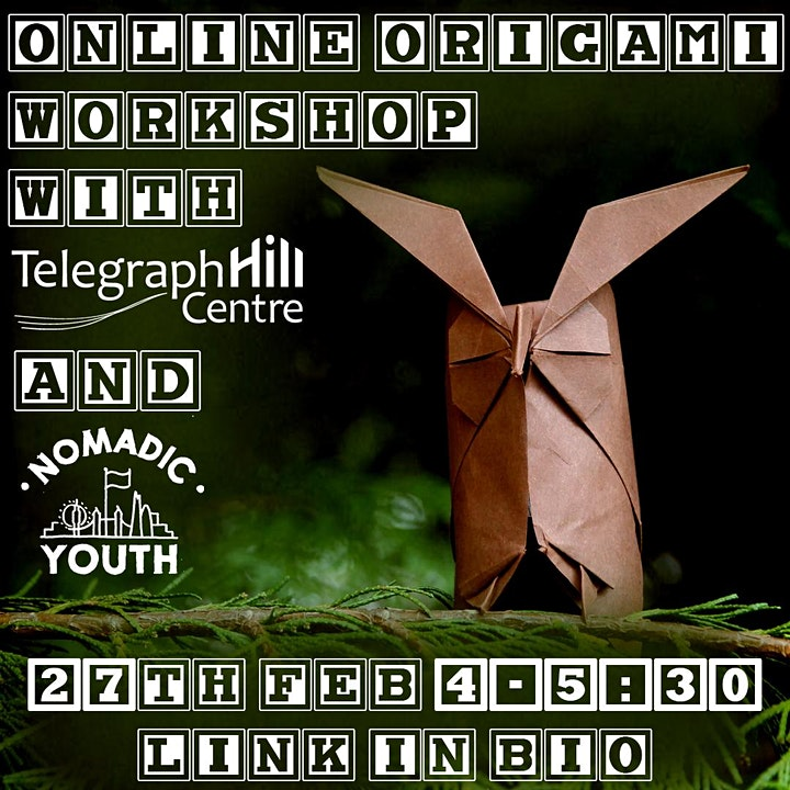 Telegraph Hill Centre Presents: Free Youth Art Workshops