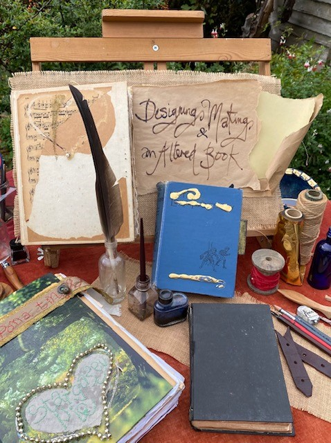 Altered Books Art Course – Designing & Making an Altered Book